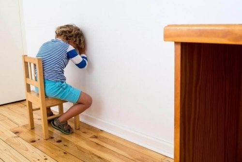 Vaihtoehtoisia tapoja rangaista lasta