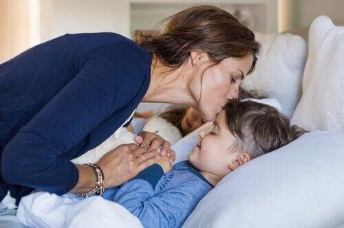 Erosta on hyvä puhua lasten kanssa