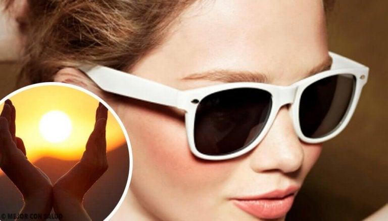 Mitä silmille tapahtuu auringossa ilman aurinkolaseja?