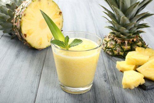 Avokado-ananassmoothie