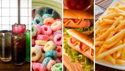 Ruokia, joita tulisi välttää hinnalla millä hyvänsä