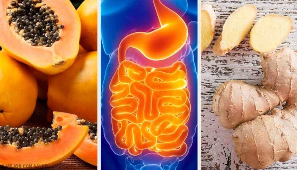 Ruoansulatusta helpottavat hedelmät ja yrtit