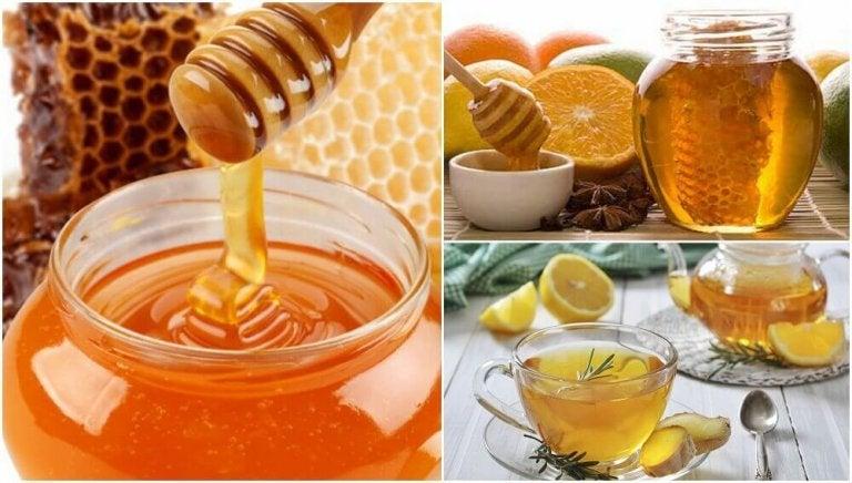 Hunajahoitoja terveyden parantamiseksi