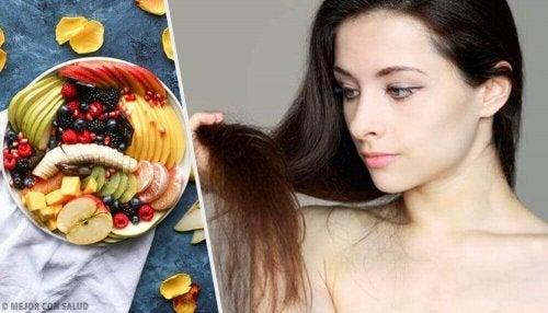 Nämä 12 ruokaa tekevät hiuksista kauniimmat