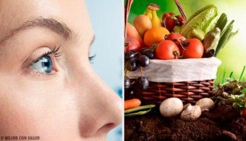 10 hyvää ruokaa silmien terveydelle