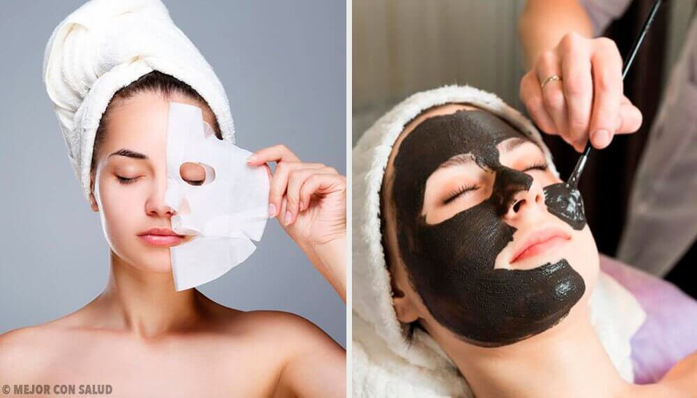 Kuorintanaamiot liivatteesta ihon uudistamiseksi