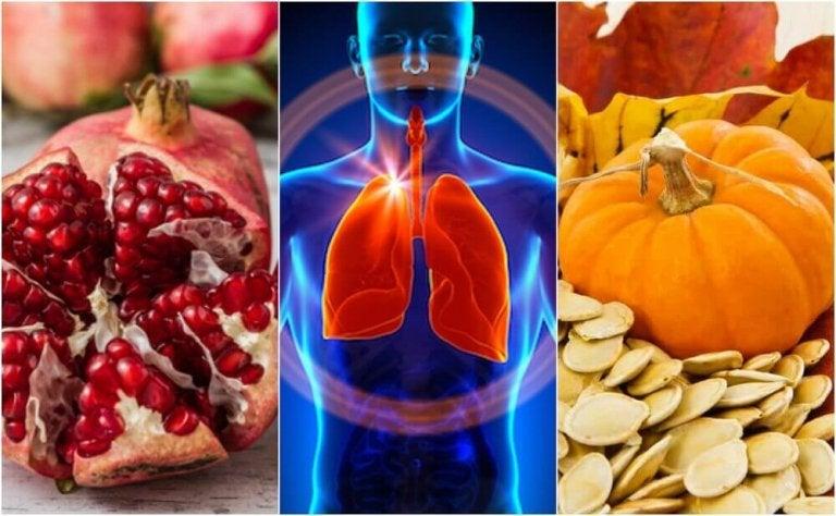 6 ruokaa, jotka auttavat edistämään keuhkojen toimintaa