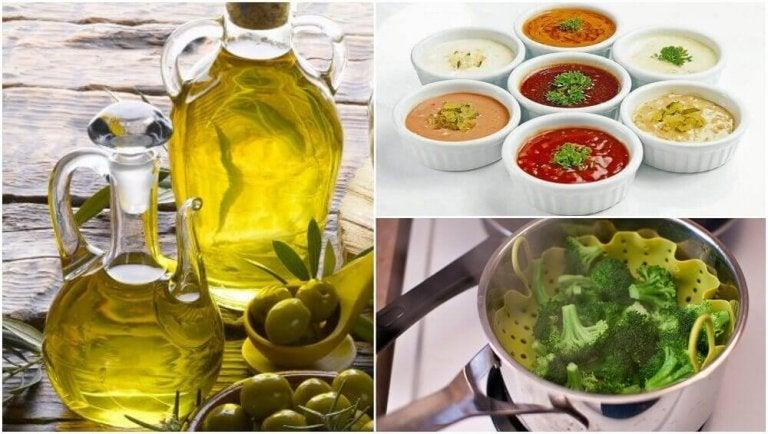 6 vinkkiä ruoanlaittoon kolesterolin vähentämiseksi