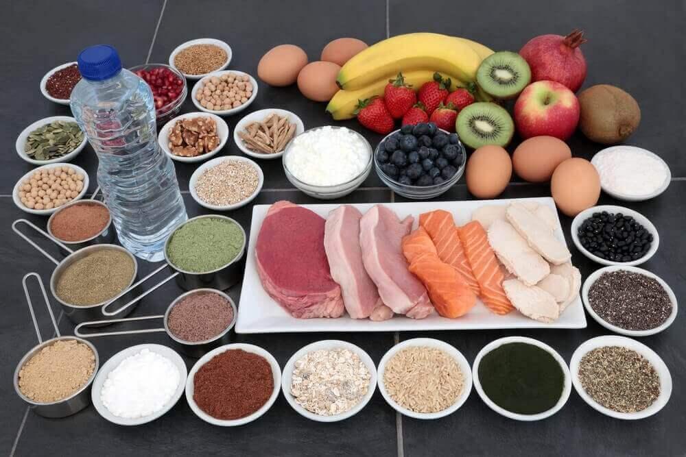 terveellinen ruokavalion urheilijalle