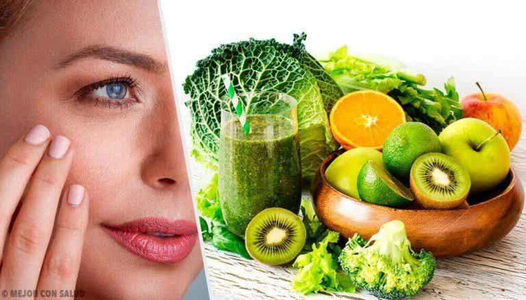 Hoida kuivaa ja halkeilevaa ihoa hedelmillä