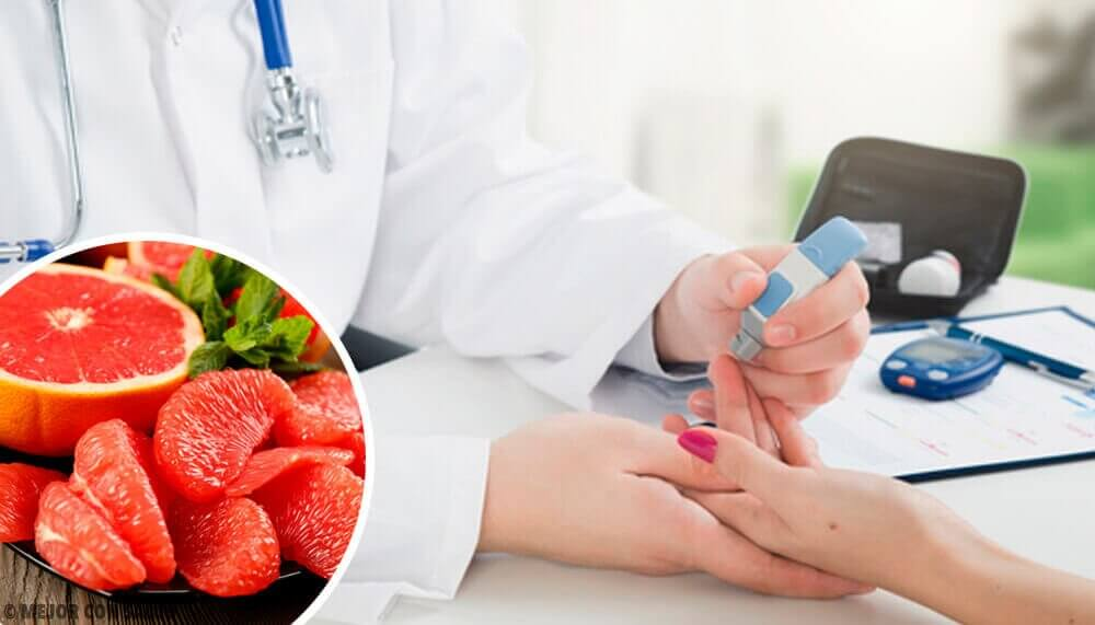 Ehkäise diabetesta syömällä greippiä