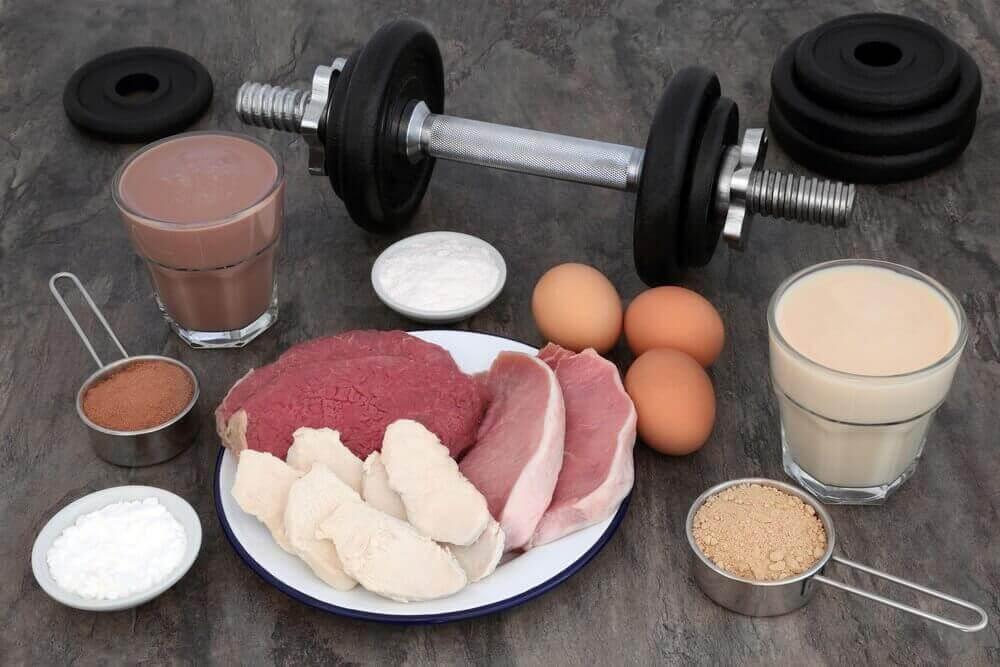 lihasmassan kasvatus proteiinin avulla