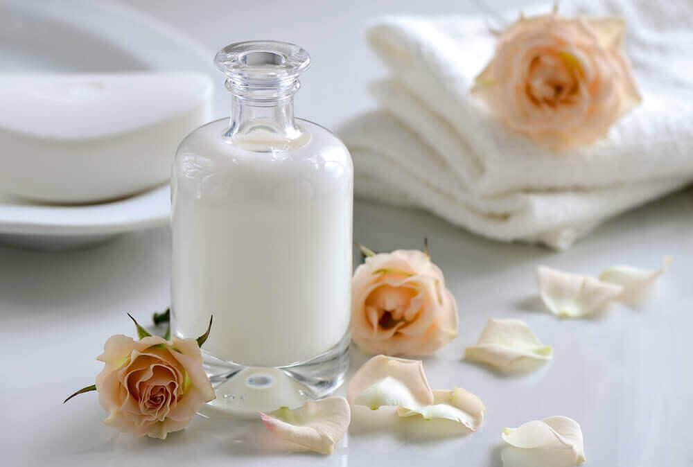 maito ja pyyhkeet