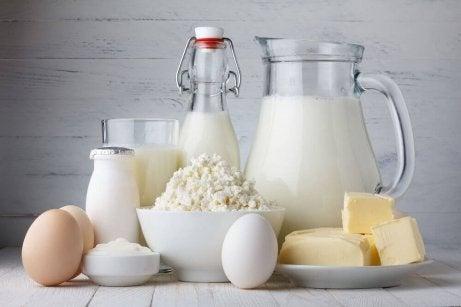 Maitotuotteet voivat aiheuttaa ruoansulatusongelmia ja näin tulehdusta