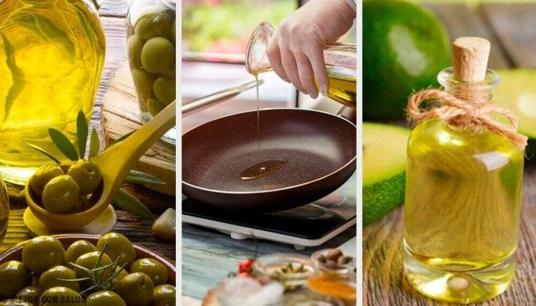 Mikä öljy on terveellisintä paistamiseen?