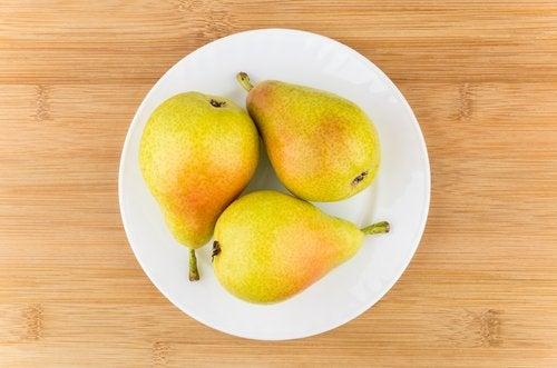 päärynät sopivat vauvalle