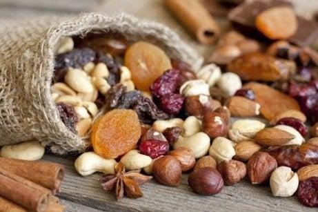 Pähkinät auttavat nostamaan hemoglobiinia