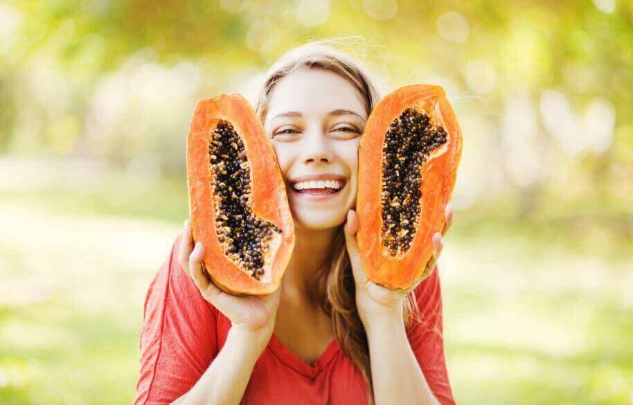 eroon suolistomadoista papaijan avulla