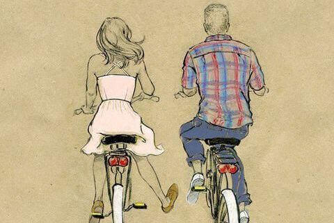 Pyörä on hyvä sisustuselementti vintage-tyylissä