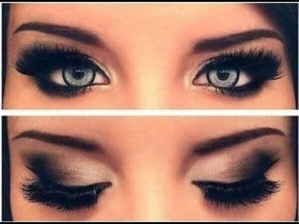 Pienten silmien meikkaus