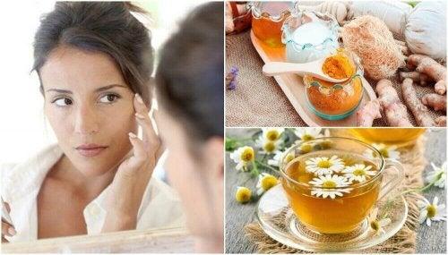 Kosmeettisia hoitoja silmäpusseille