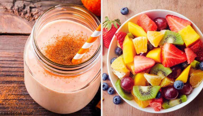 Ravitsevia aamiaissmoothieita viikon jokaiselle päivälle