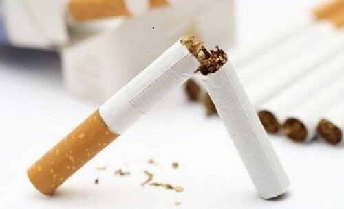 katkaistu tupakka