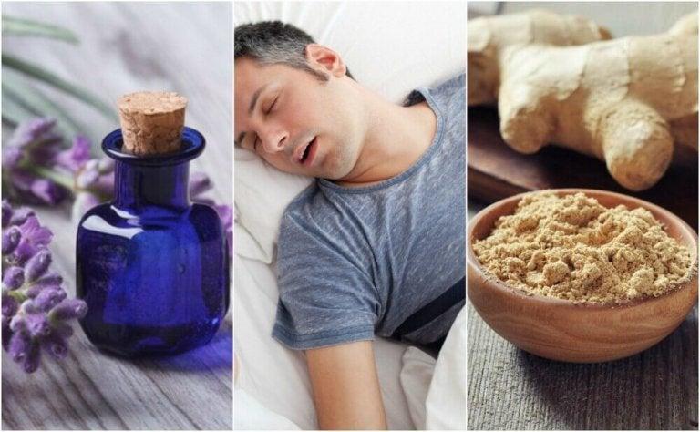 5 luontaishoitoa uniapneaan