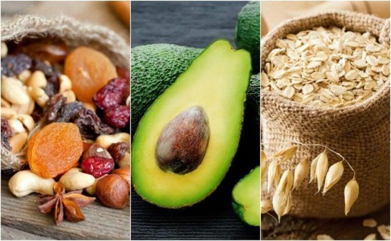6 parasta ruokaa hyvän kolesterolin lisäämiseksi