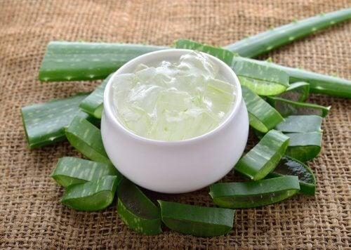 Aloe vera vähentää ihon virheitä