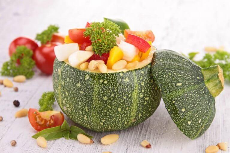 Japanilaiset syövät kasvispainotteisesti
