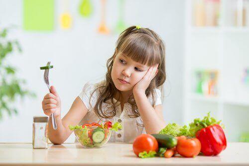 Ruokahaluton lapsi