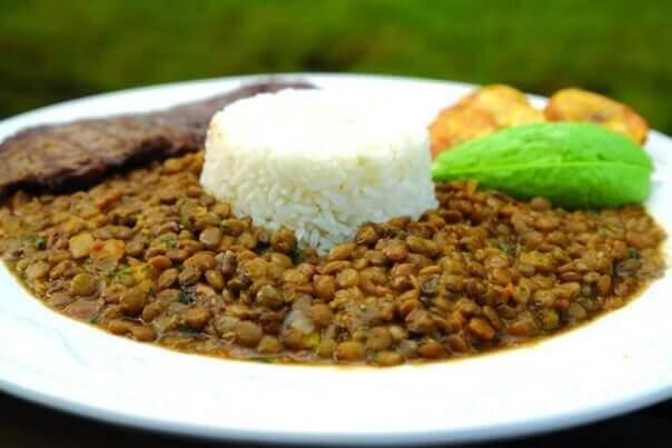linssit ja riisi