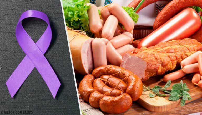 Nitrosoamiineja sisältävät ruoat ovat mahdollisesti karsinogeenisiä
