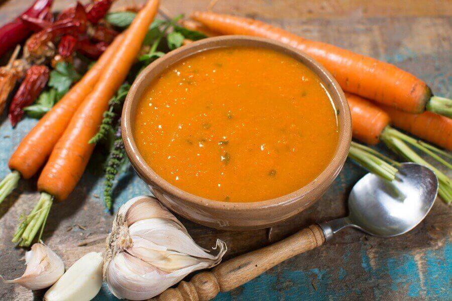 oranssi keitto