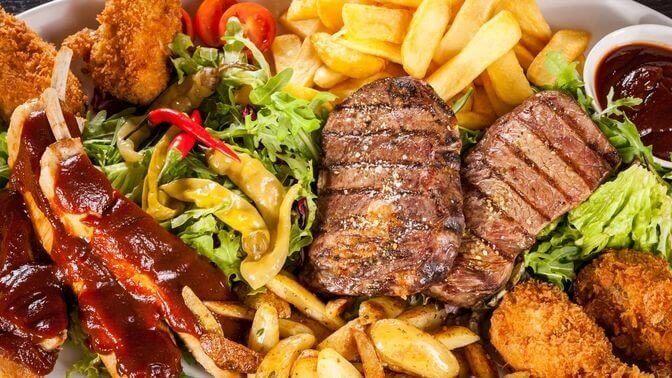 Rasvainen ruoka on haitallista sydämelle