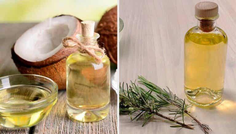 Kiinteyttävä ja ravitseva kookos-greippi-rosmariiniöljy