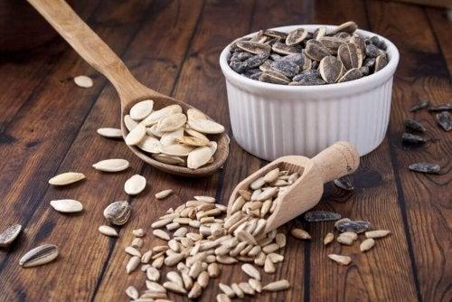 Siemenet osana tasapainoista ruokavaliota