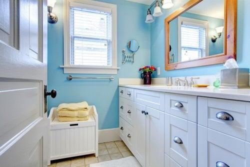 Siisti kylpyhuone on ilo silmälle