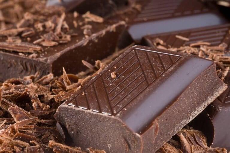 suklaasta voi tehdä kuorinnan