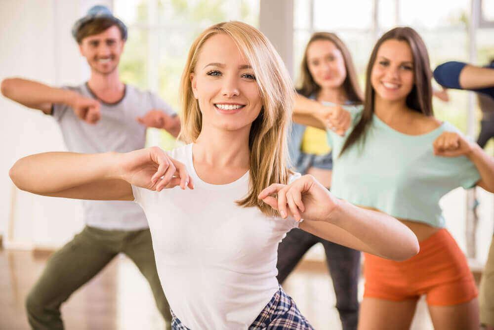 pidä hauskaa kun liikut, niin pystyt jatkamaan kuntosalilla alkuhekuman jälkeenkin