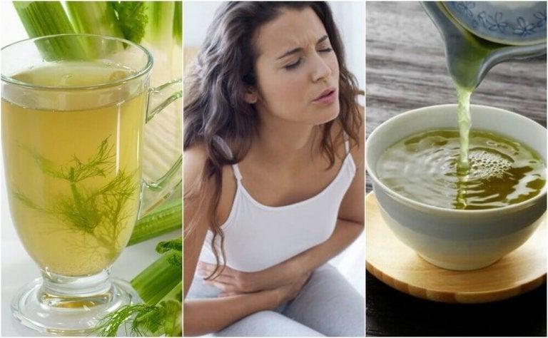 Haudukkeita ruoansulatusvaivoihin: 5 vaihtoehtoa