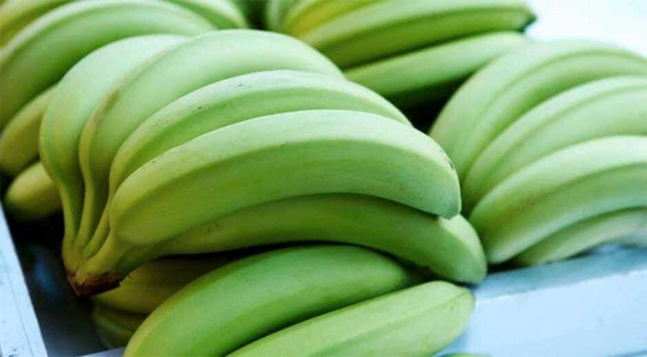 Raa'at banaanit vaikuttavat ruoansulatukseen