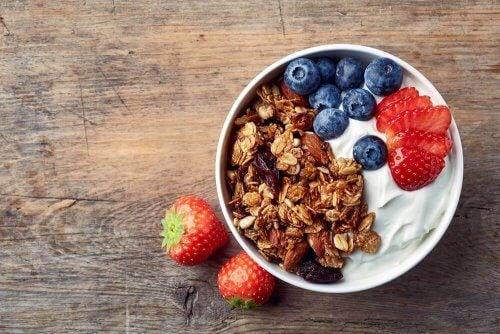 Terveellinen aamupala painonpudotukseen