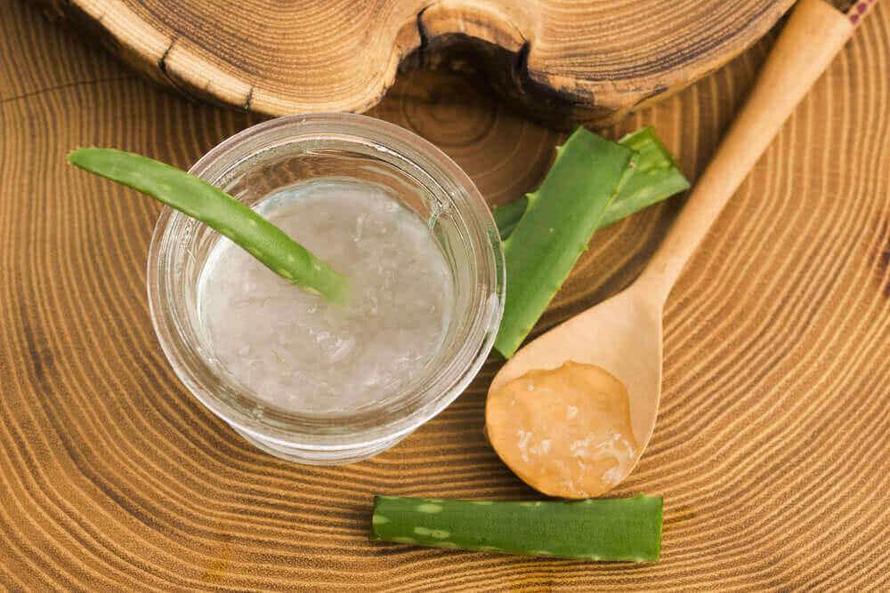 aloe vera on luontaishoito hilseen ehkäisemiseksi