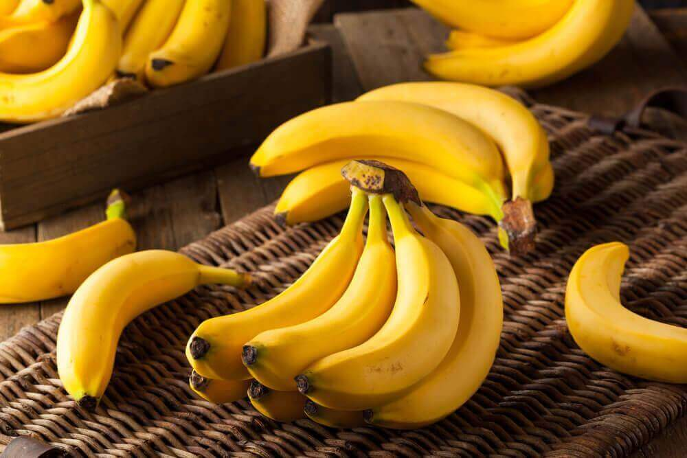eroon unettomuudesta banaanilla