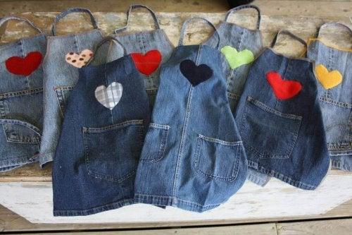 Farkkuessut ovat helppo tapa kierrättää vanhat farkut