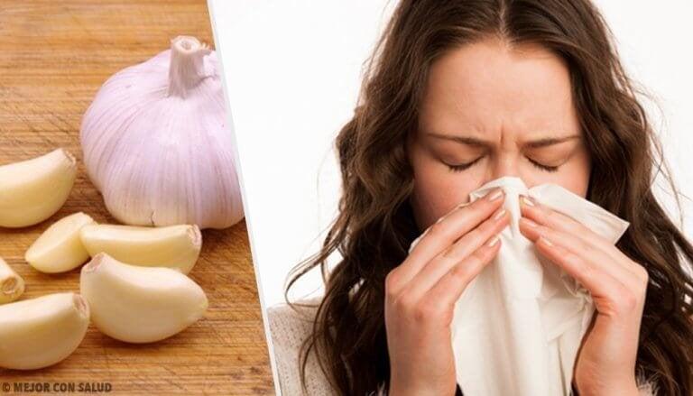 Flunssan lievittäminen 7 ruoka-aineella