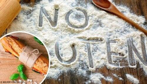 Helpot gluteenittomat kookos-juustosämpylät