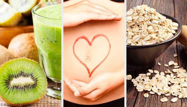 Vatsan toimintaa edistävää ruokaa